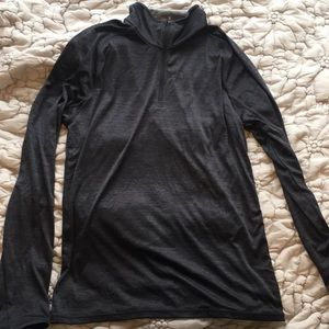 Zella Gray Quarter Zip